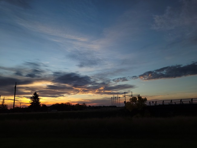 Beautiful sunrise Moose Jaw, SK
