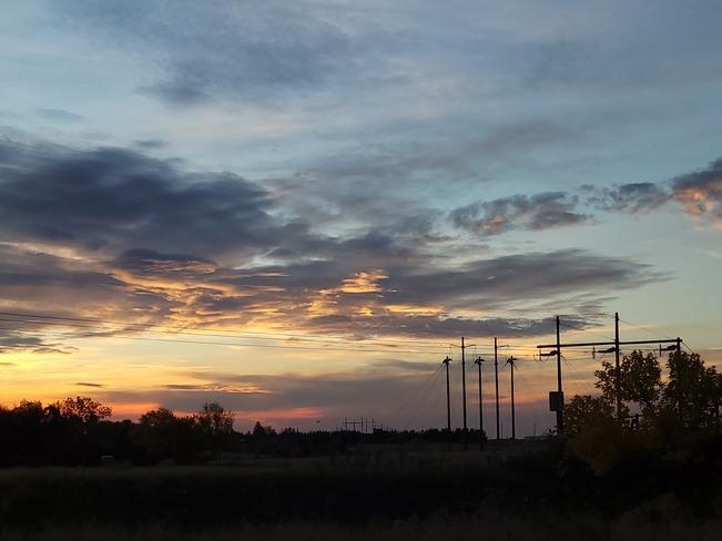 sunrise Jehovah's beauty Moose Jaw, SK