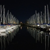 Beautiful night at Nepean Sailing Club - took the Monterey out!