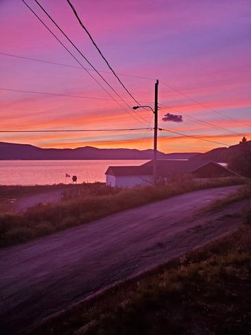 amazing sunset Gillams, NL