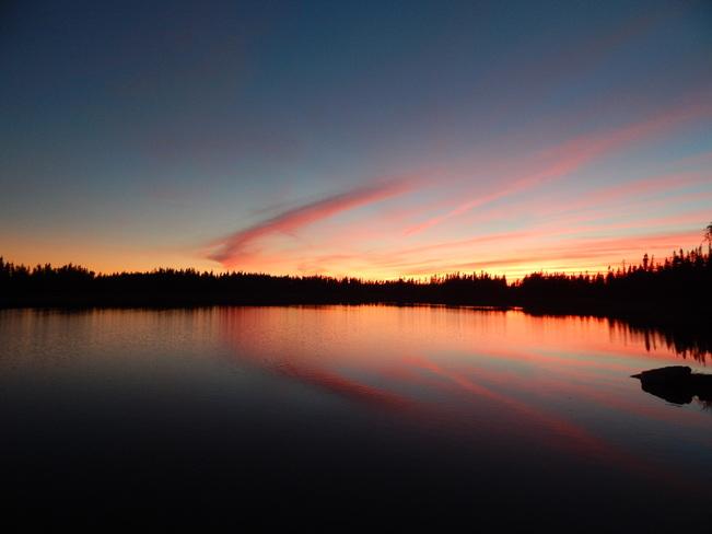 sunset Gander
