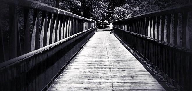 A Man and A Bridge Peterborough, ON