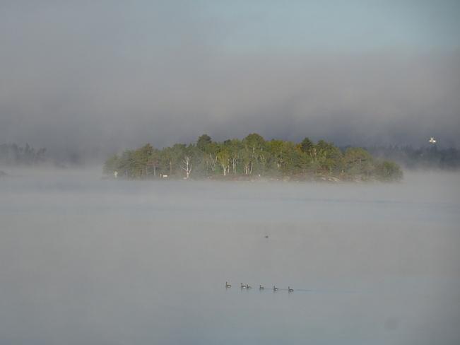 A Beach In Fog Sudbury, ON