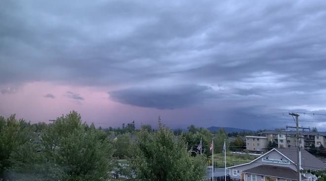 Storm Watching Langley, British Columbia, CA