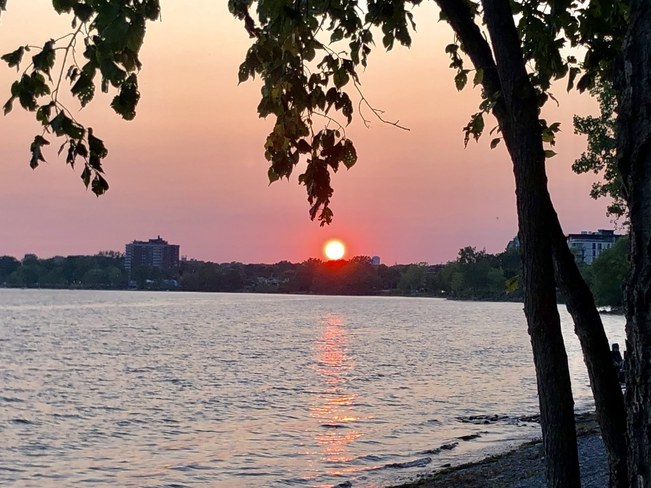 Beautiful sunset!! Pointe-Claire, Quebec, CA