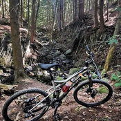 Vélo sur Pendora