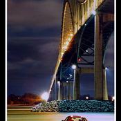Pont Laviolette, 19 sept. 20h:00