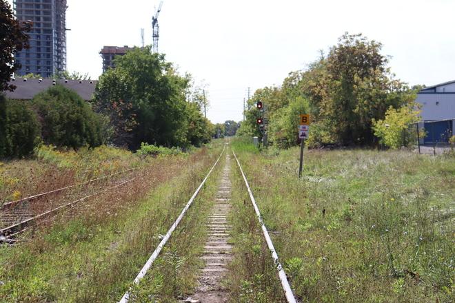 Abandoned railway Brampton Brampton, Ontario, CA