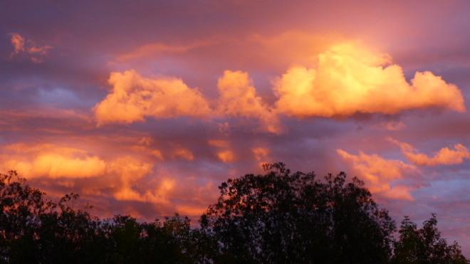 Sunset in Red Deer Red Deer, AB
