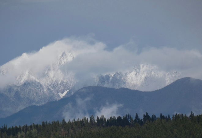 SNOW IN LATE SUMMER! Cranbrook, BC