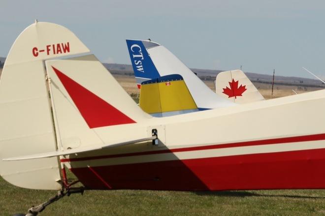 Planes Kindersley Regional Airport (YKY), Saskatchewan