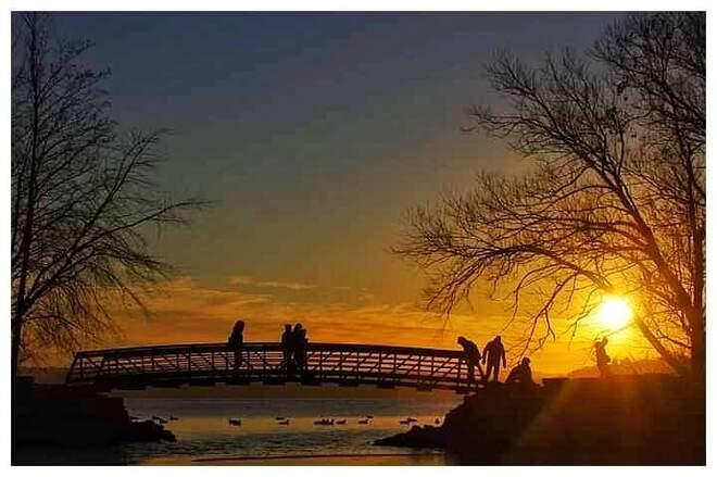 sunset Burlington, ON