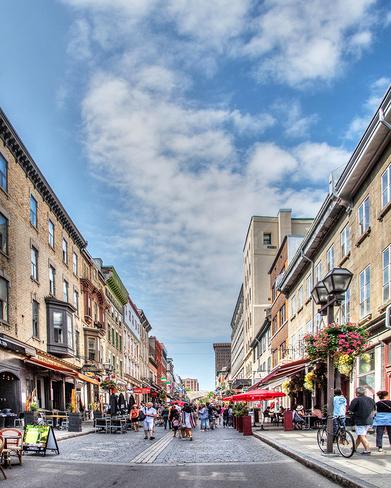 Rue St-Jean Old Quebec, La Cité-Limoilou, Quebec City, QC
