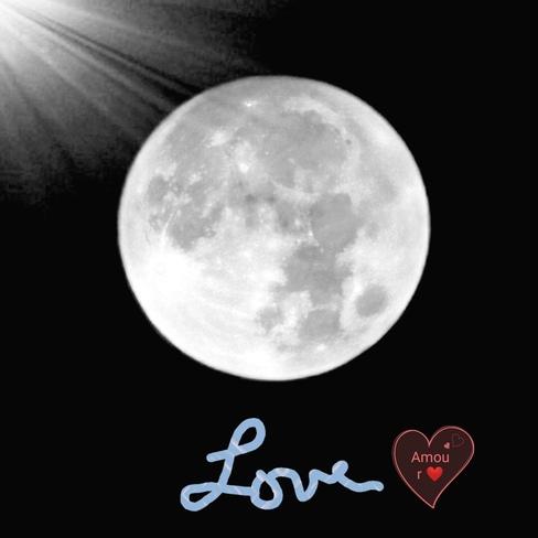 soir de la pleine lune. Joliette, QC