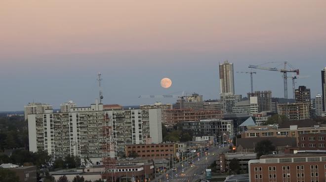 Moonrise Waterloo, ON
