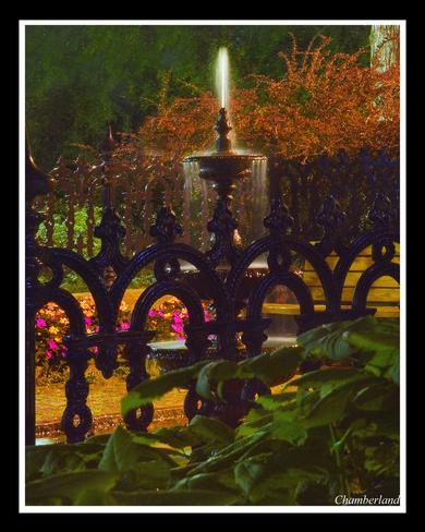 Trois-Rivières,fontaine, rue des Ursulines. Trois-Rivières, QC