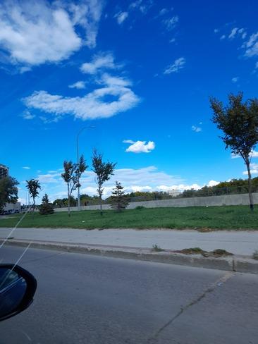 strange clouds Prince Albert, SK