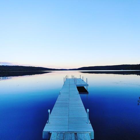 Evening at the lake Huntsville, ON