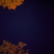 Starry night at the fire pit!
