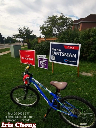 Sept 20 2021 23C Happy Monday:) Federal Election date - Thornhill Thornhill, ON