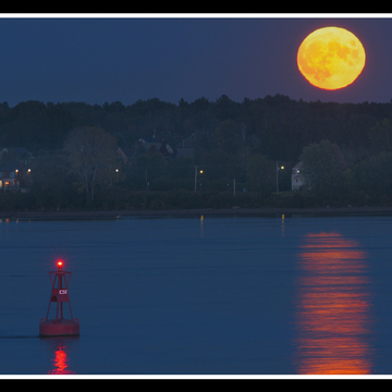 Pleine lune du 230 septembre.
