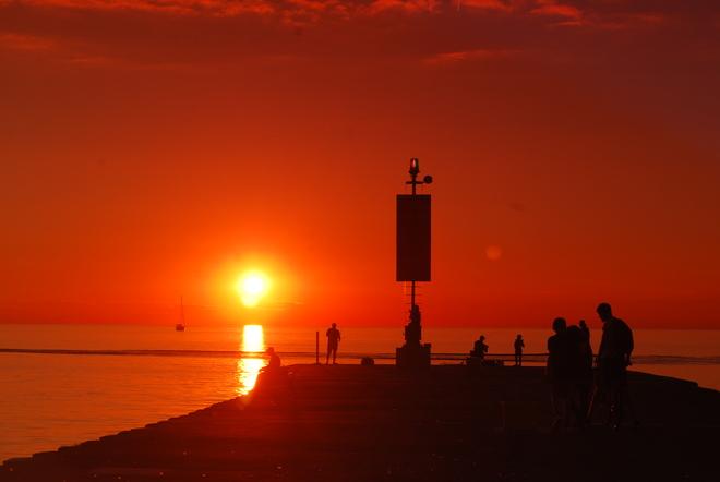 AWESOME sunset! Kincardine, ON