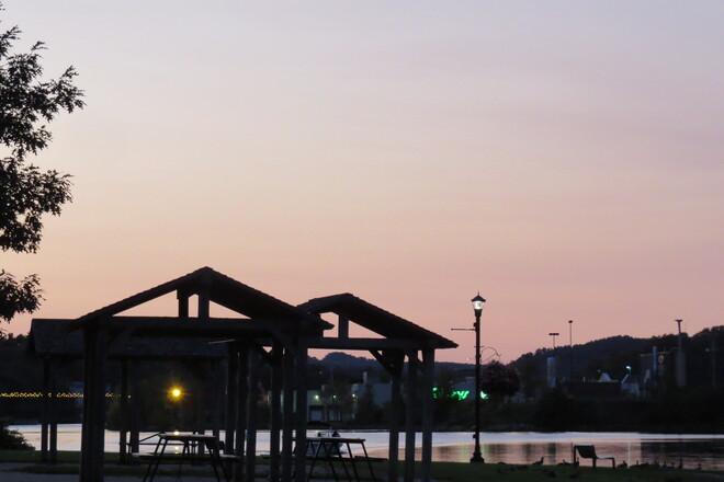 La Have River NS. Bridgewater, NS