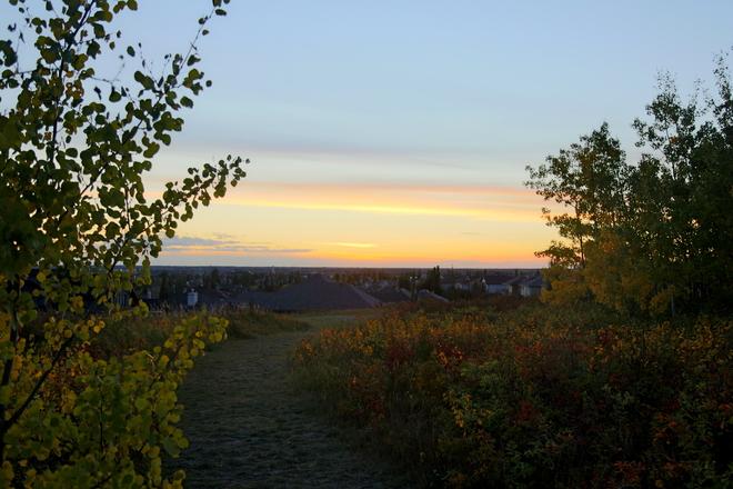 Sunset Edmonton, AB