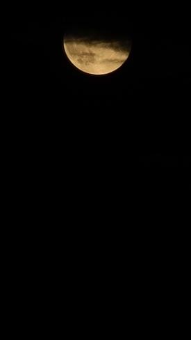 full moon Sept 20 2021 Kelowna, BC