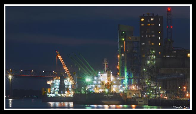 Port de Trois-Rivières.le 20 septembre. Trois-Rivières, QC