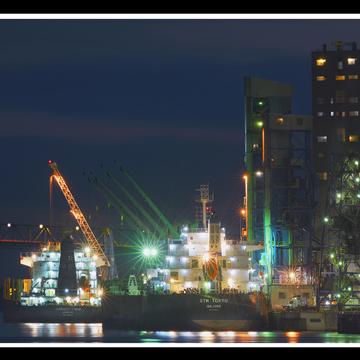 Port de Trois-Rivières.le 20 septembre.