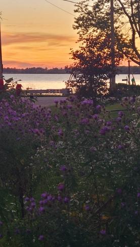 Sunset on Erie Selkirk, ON