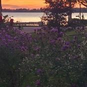 Sunset on Erie