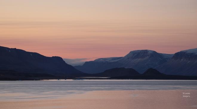 Subtle Sunrise Arctic Bay, Nunavut