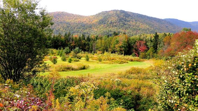 Prémices d'automne où Tewkesbury rayonne Québec