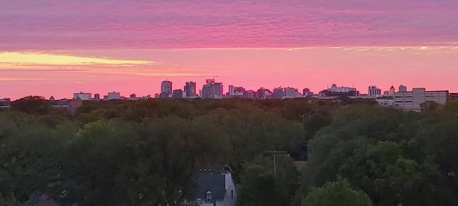 Sunrise in Winnipeg Winnipeg, MB