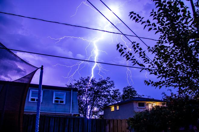 Lightning Preston, ON