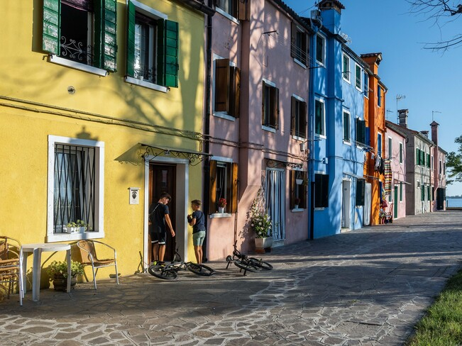 Burano neighbourhood Burano, Venice, Metropolitan City of Venice, Italy
