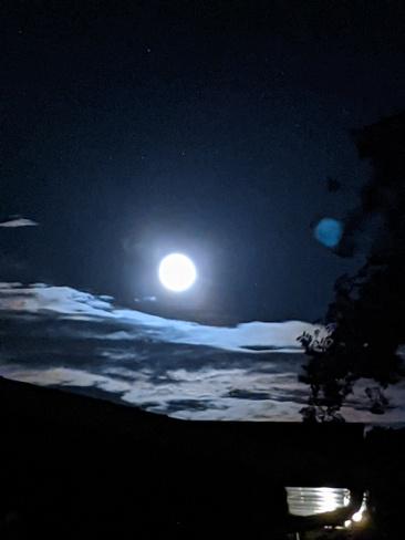 pleine lune septembre Mercier, QC