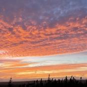 Drive home Sunset