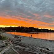 2021-09-20 - Sunrise for Cadboro Bay in Victoria BC