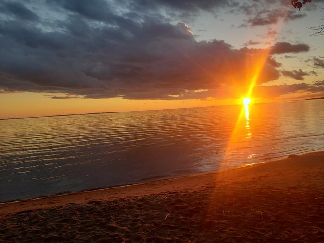 beautiful lake Nippising North Bay, ON
