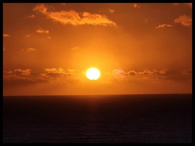 Late summer sunset Judique, NS
