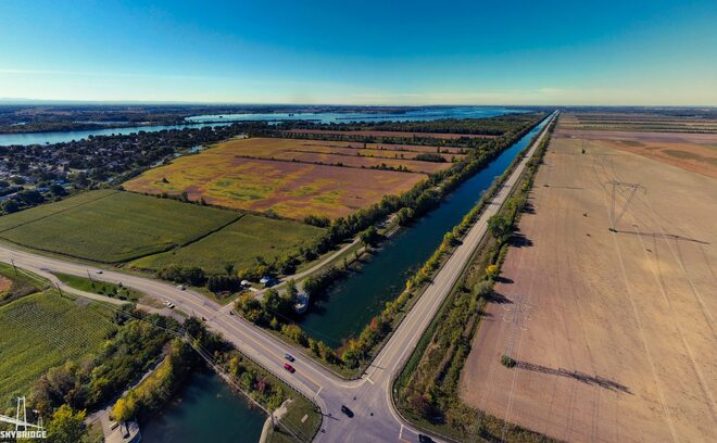 Canal de Soulanges Les Cèdres, QC