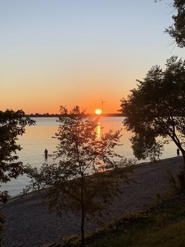 Sunset at Long Beach Wainfleet, ON