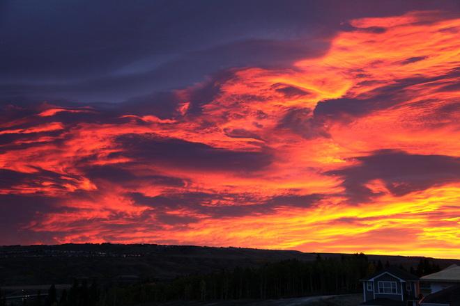 Beautiful sunrise! Cochrane, AB