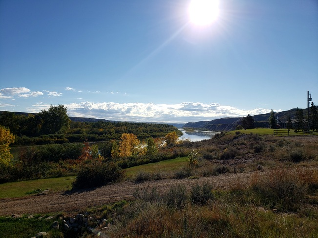 Red Deer River Cambria, AB