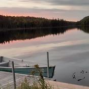 Beau soir apres la pêche