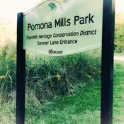 Sept 19 2021 21C Beautiful day! Enjoy nature walk at Pomona Mills Park Thornhill