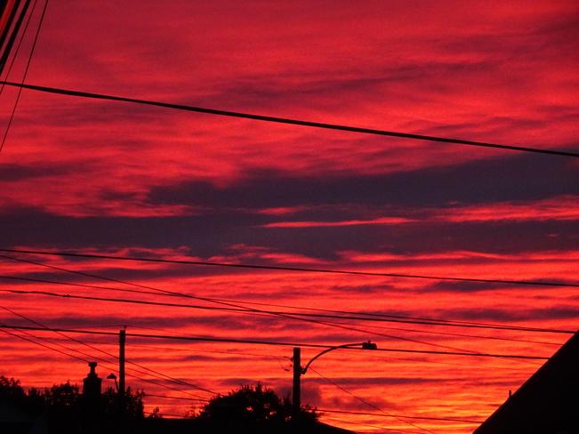 Orange Fall Sky At Night Sailors Delight Sudbury, ON
